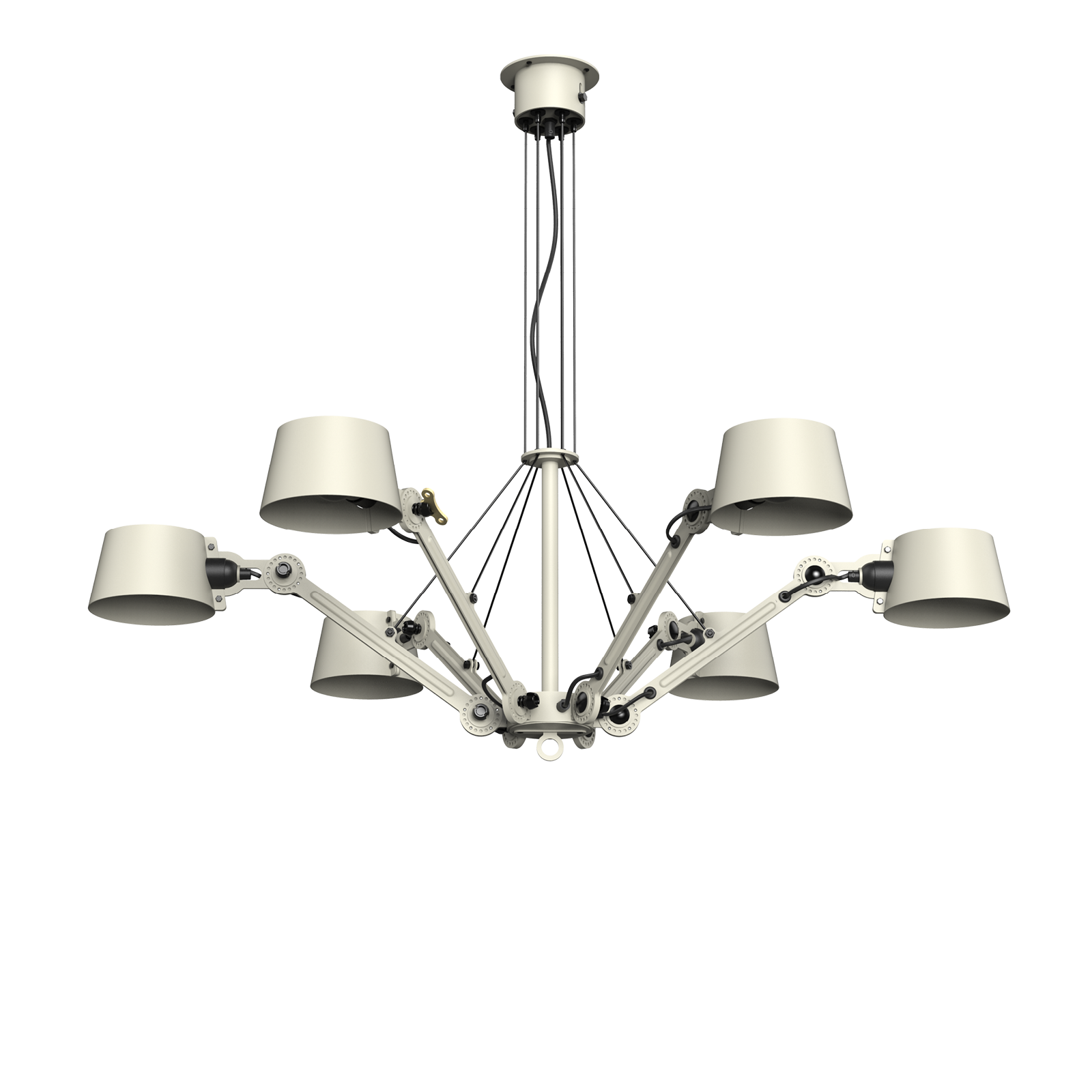 bolt chandelier 6 arm