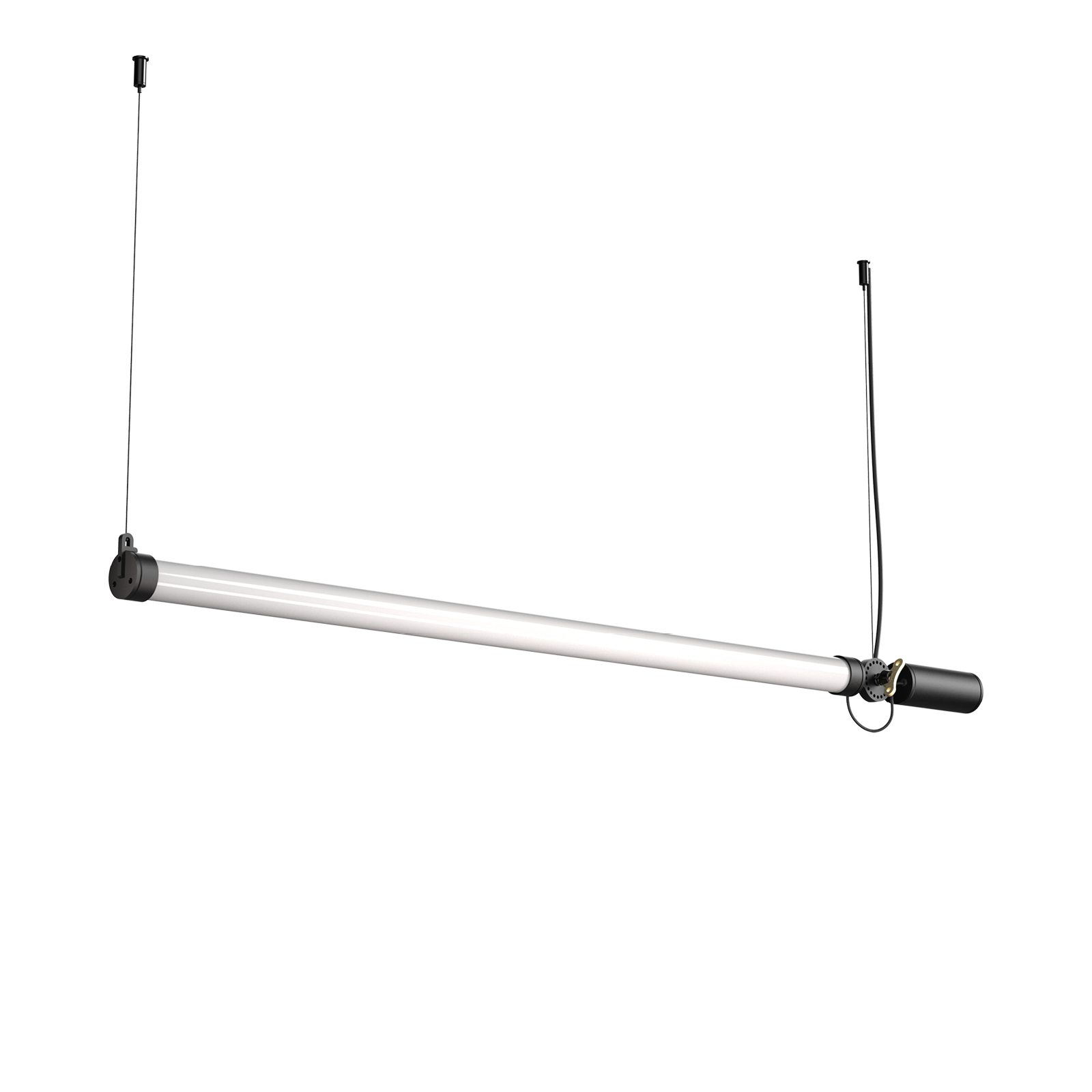 mr. tubes led pendant horizontal driver on fixture