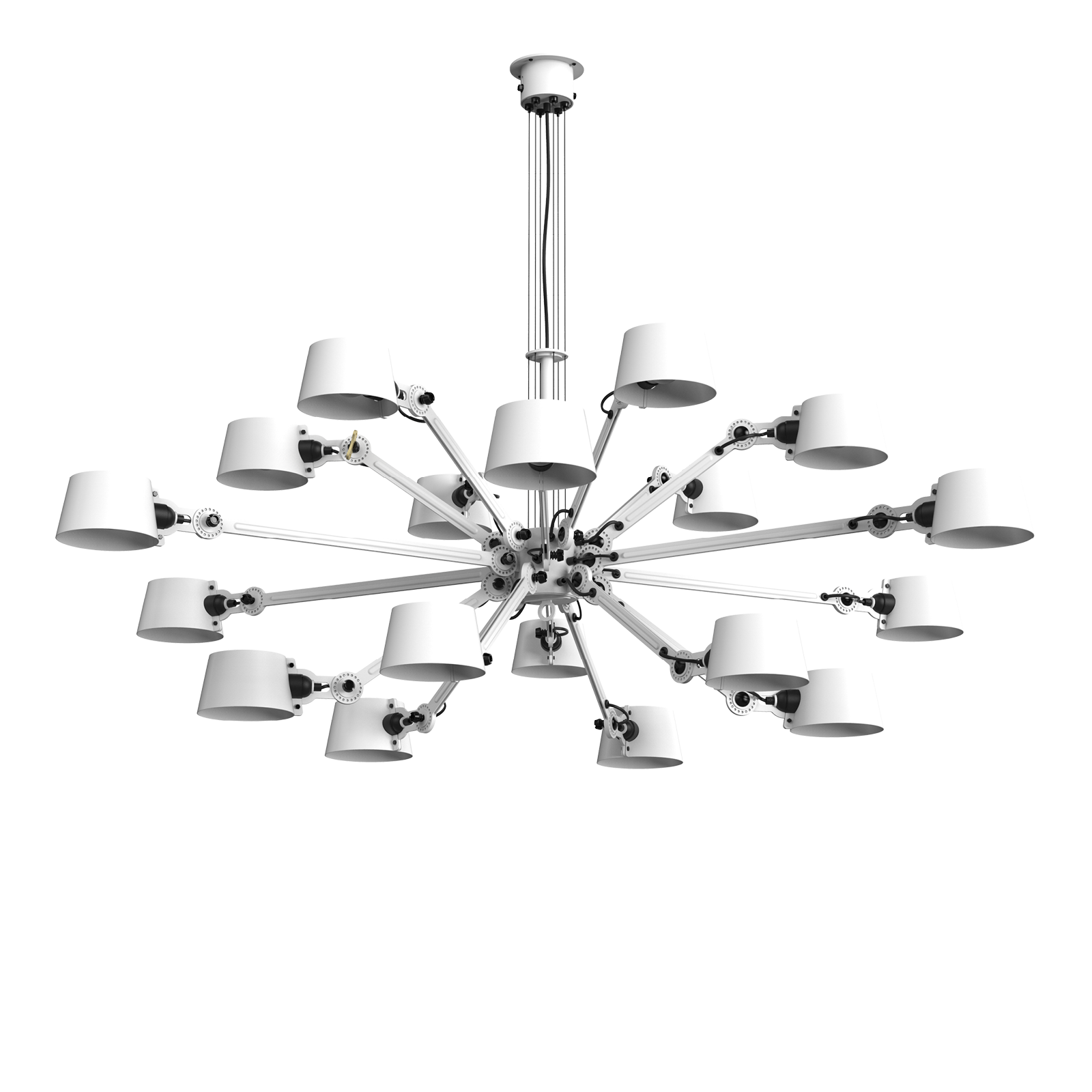 bolt chandelier 18 arms